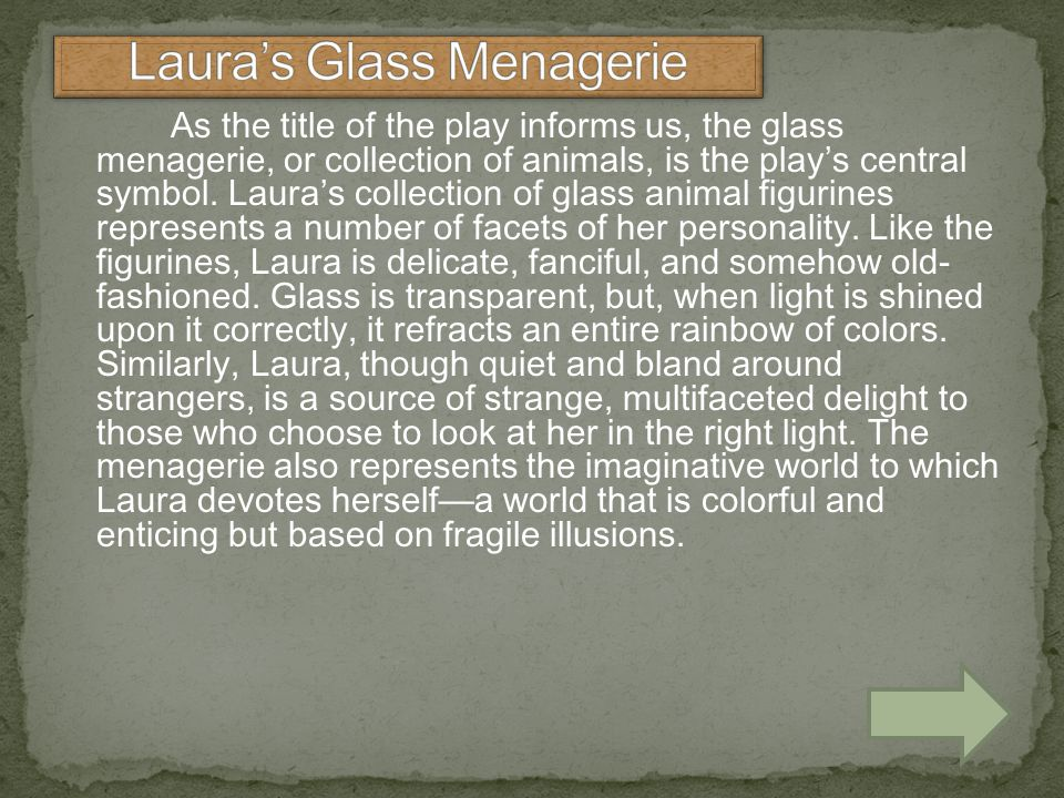 Laura's Glass Menagerie
