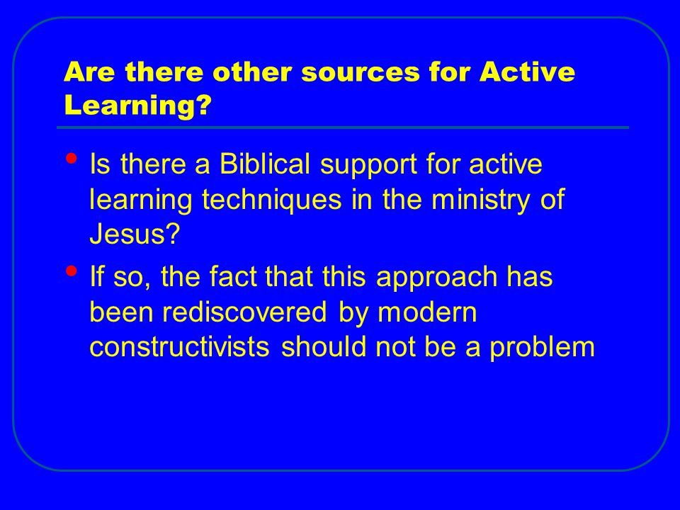 Are there other sources for Active Learning