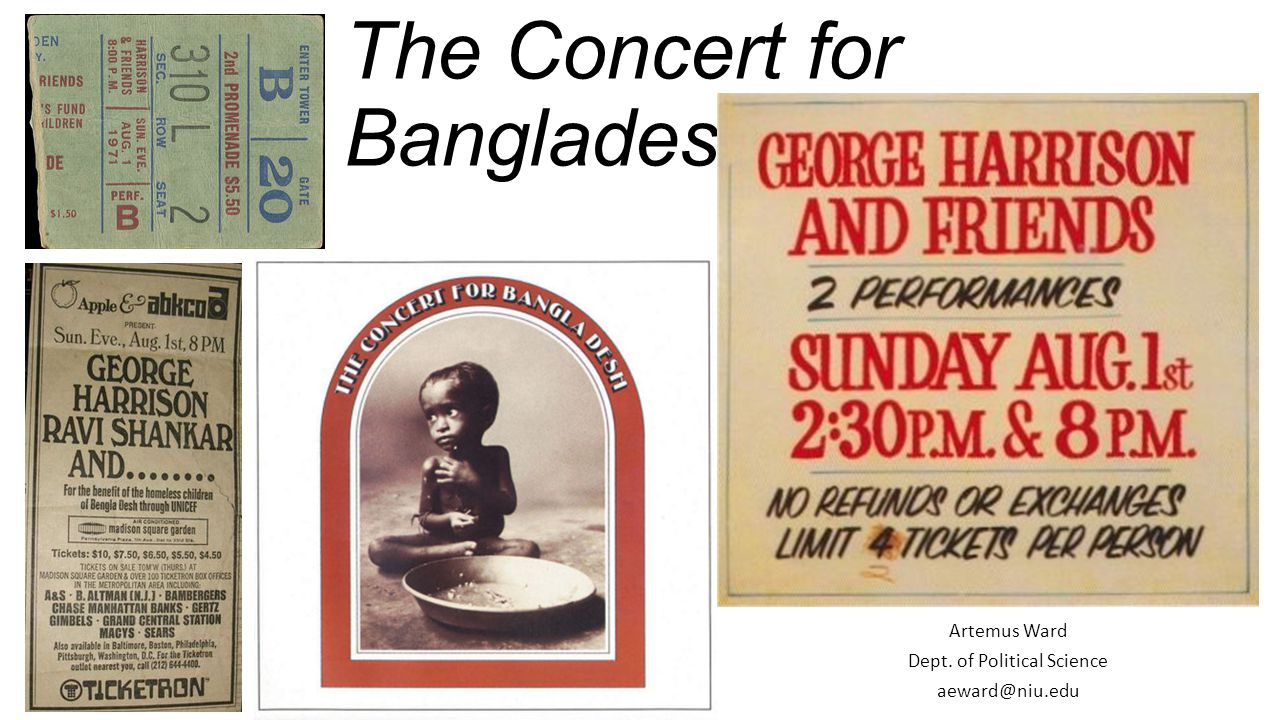 The Concert for Bangladesh (1971)