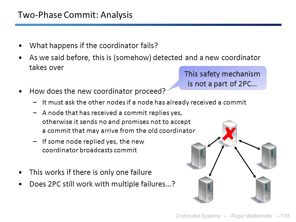Two-Phase Commit: Analysis