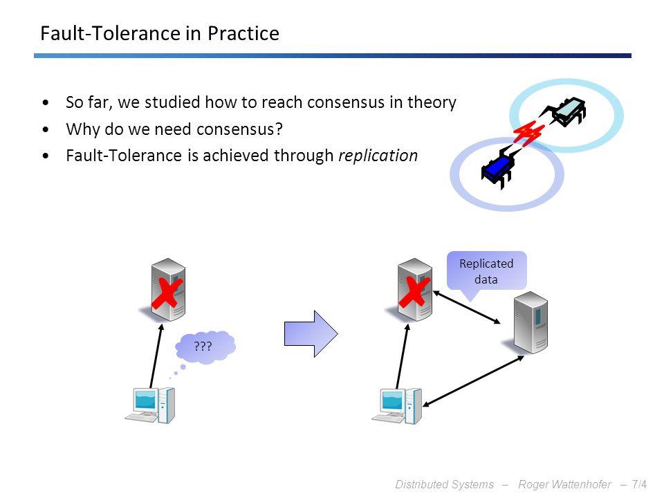 Fault-Tolerance in Practice