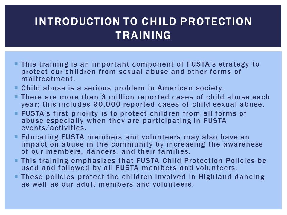 Introduction to Child Protection Training