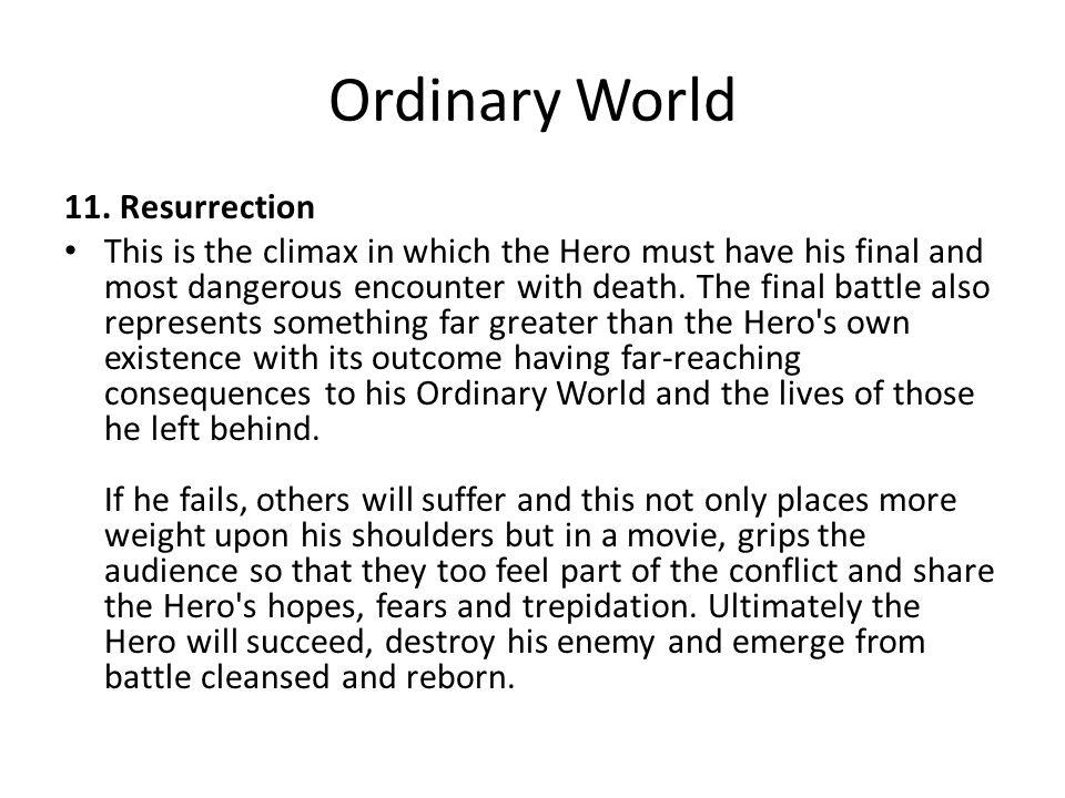 Ordinary World 11. Resurrection