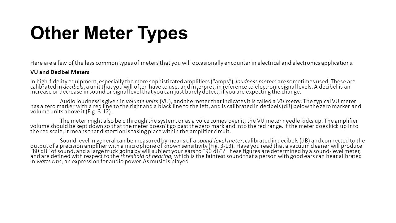 Other Meter Types