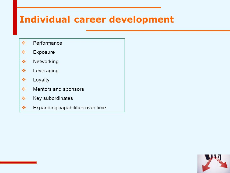 Individual career development