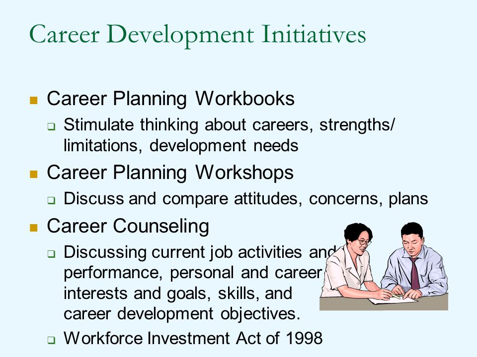 Career Development Initiatives