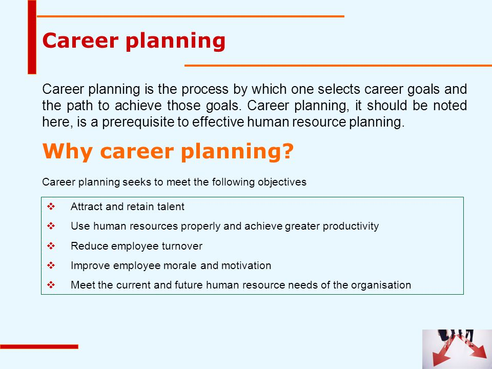 Career planning Why career planning