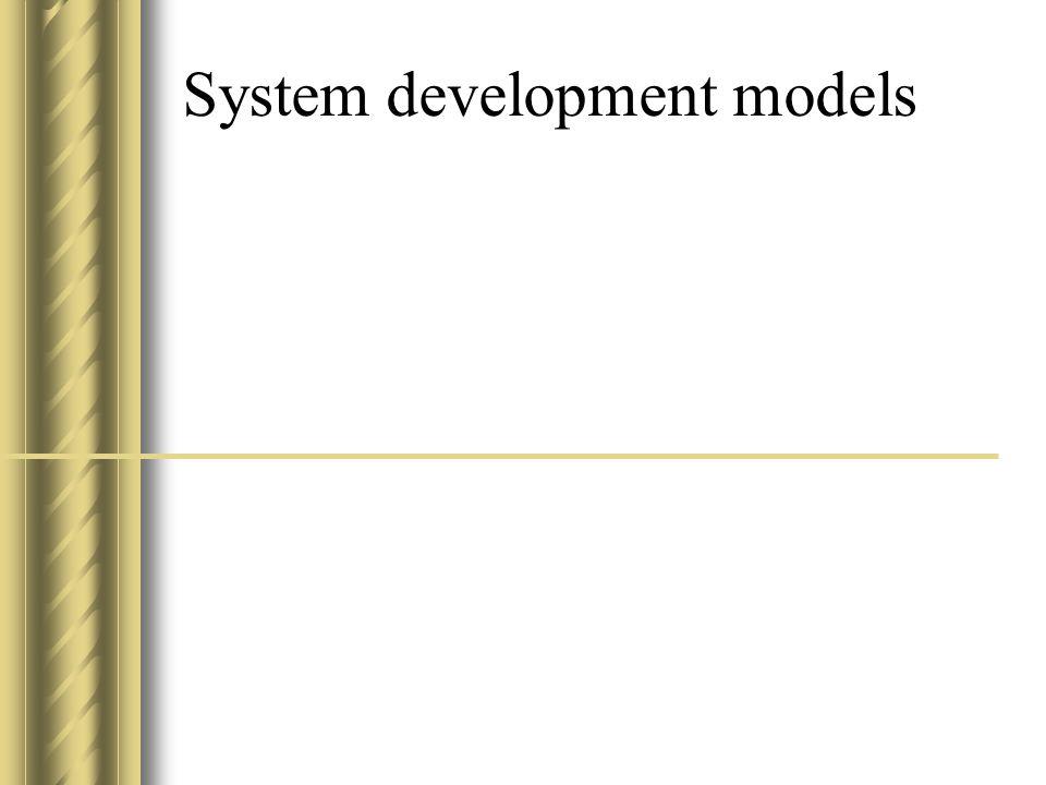 System development models