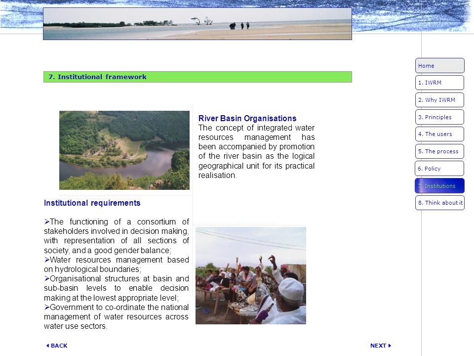 River Basin Organisations