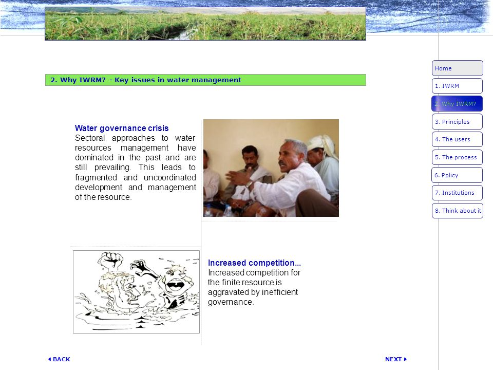 Water governance crisis