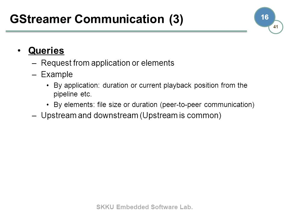 GStreamer Communication (3)