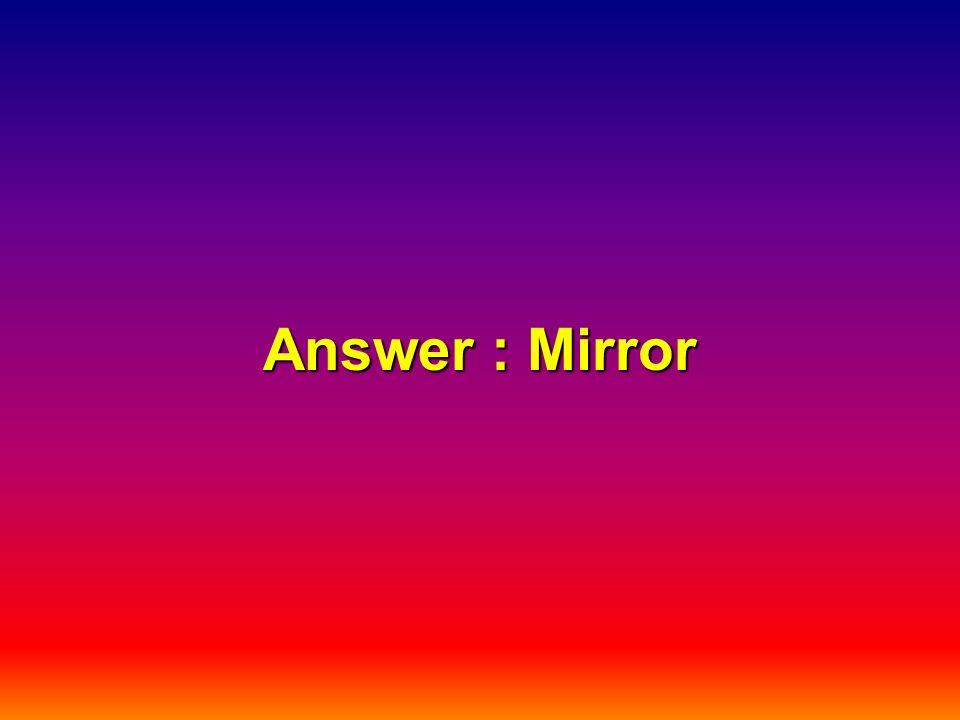 Answer : Mirror