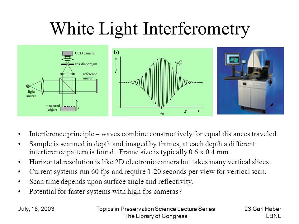 White Light Interferometry
