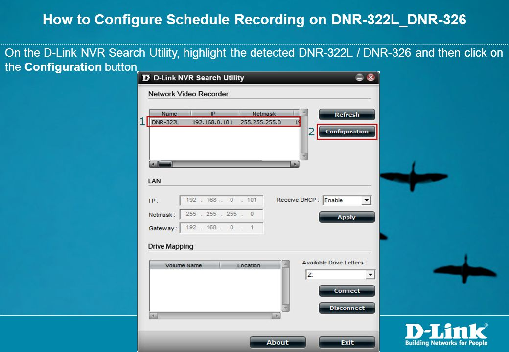 How to Configure Schedule Recording on DNR-322L_DNR-326