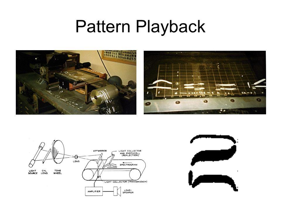 Pattern Playback