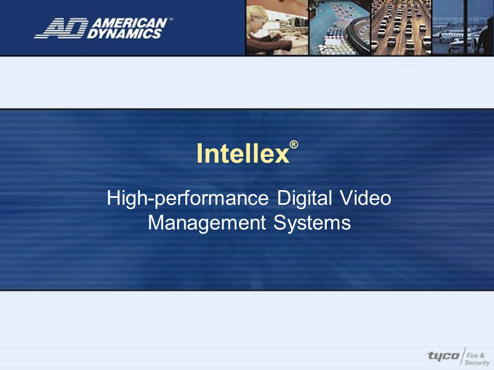 High-performance Digital Video Management Systems