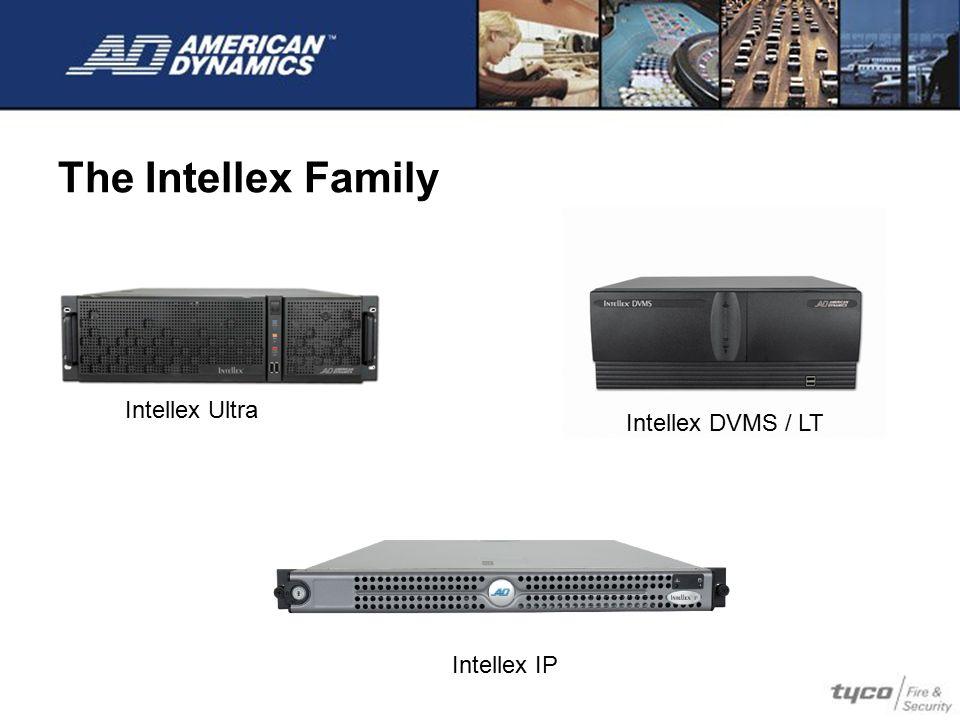 The Intellex Family Intellex Ultra Intellex DVMS / LT Intellex IP