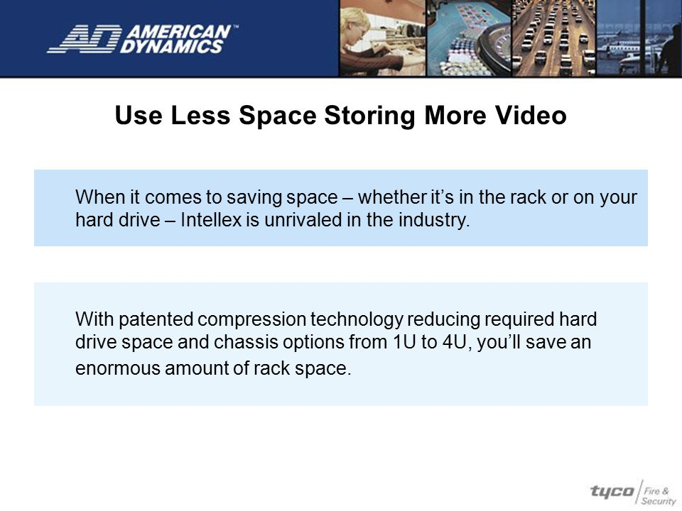 Use Less Space Storing More Video
