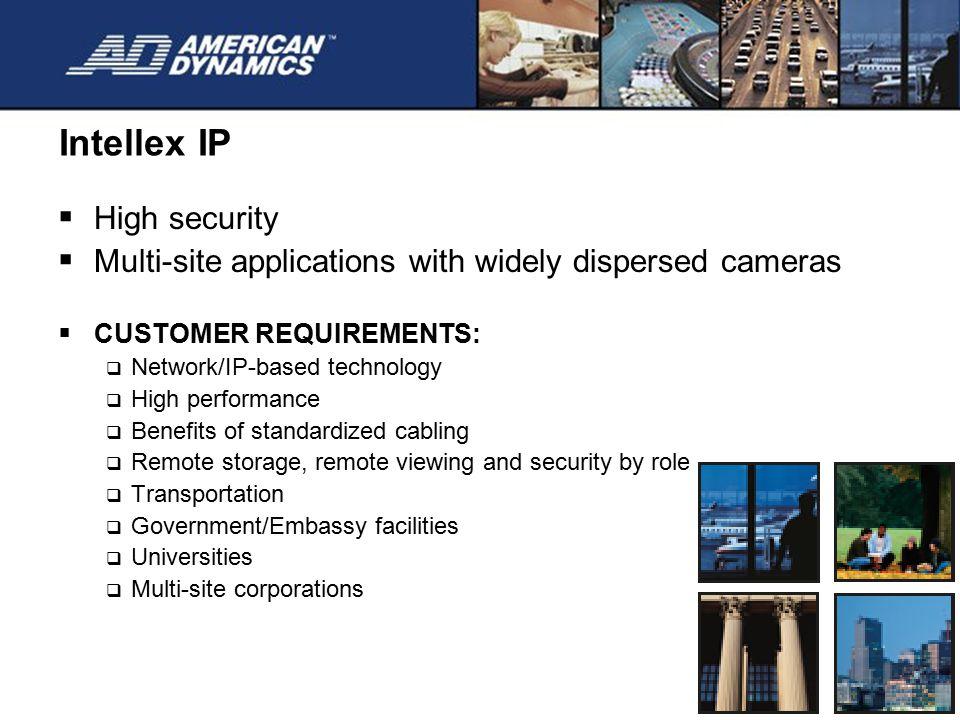 Intellex IP High security