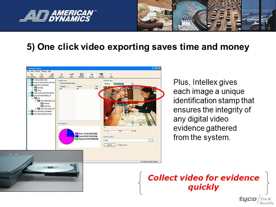 5) One click video exporting saves time and money