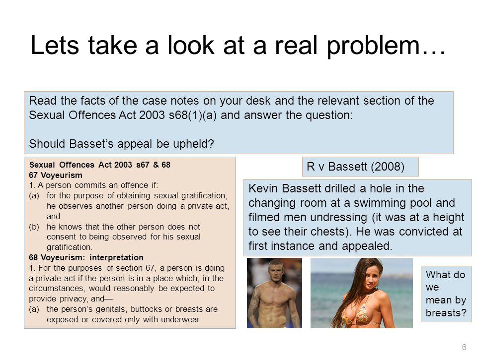 Lets take a look at a real problem…