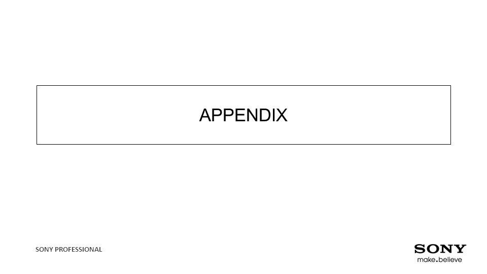 APPENDIX Anything that you think could be useful
