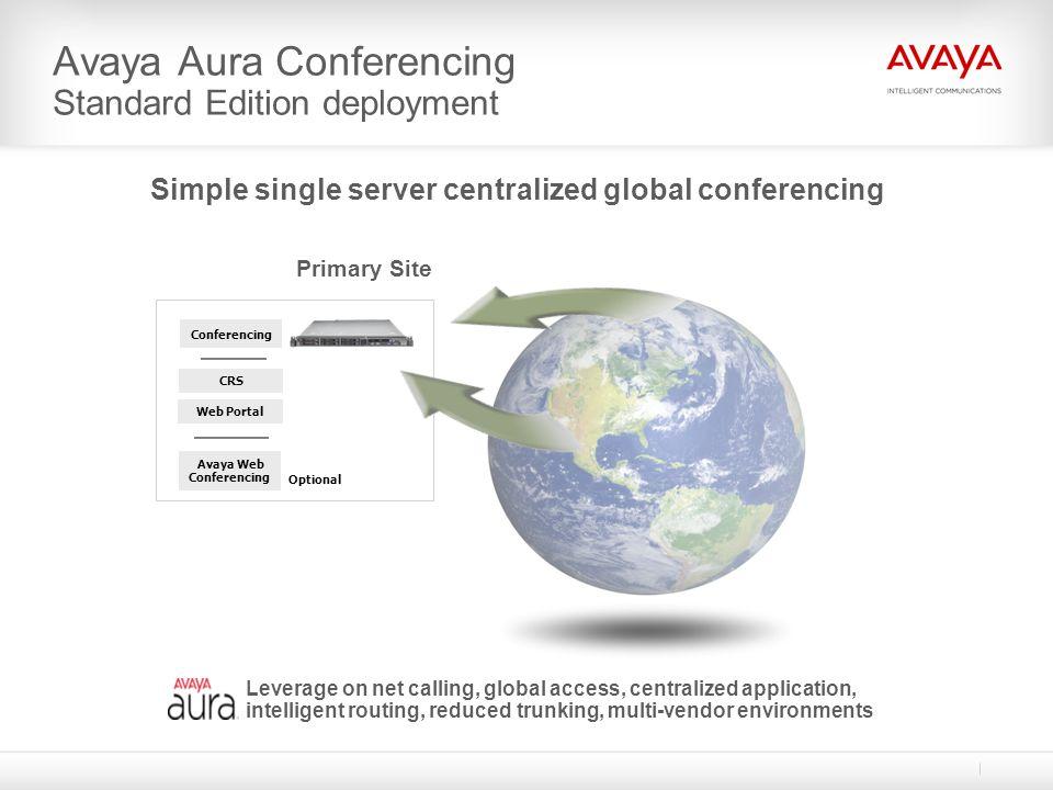 Avaya Aura Conferencing Standard Edition deployment