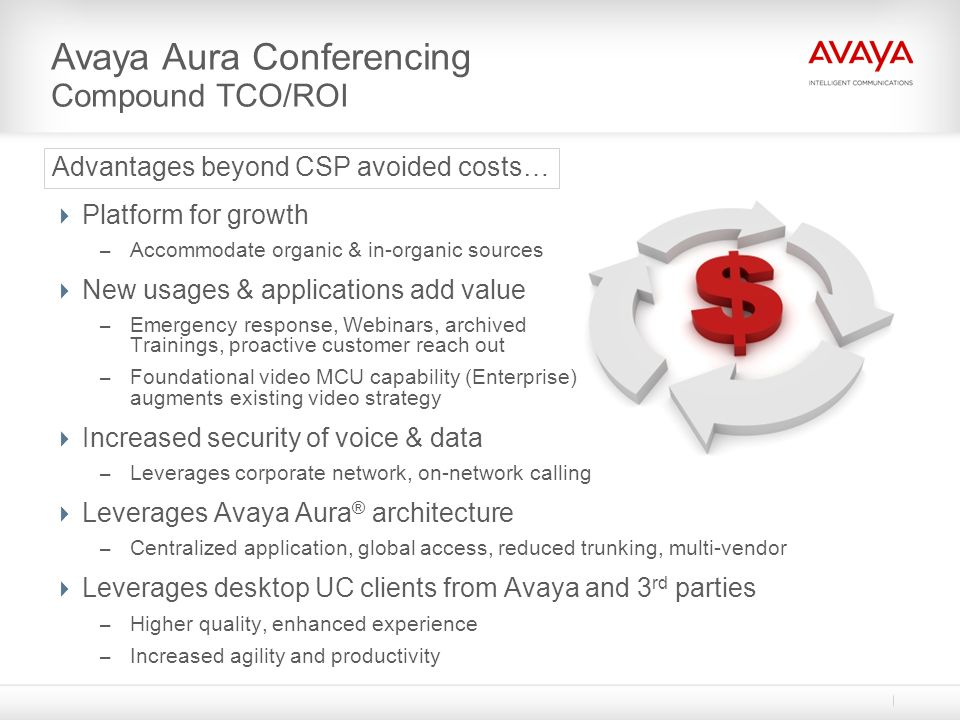 Advantages beyond CSP avoided costs…