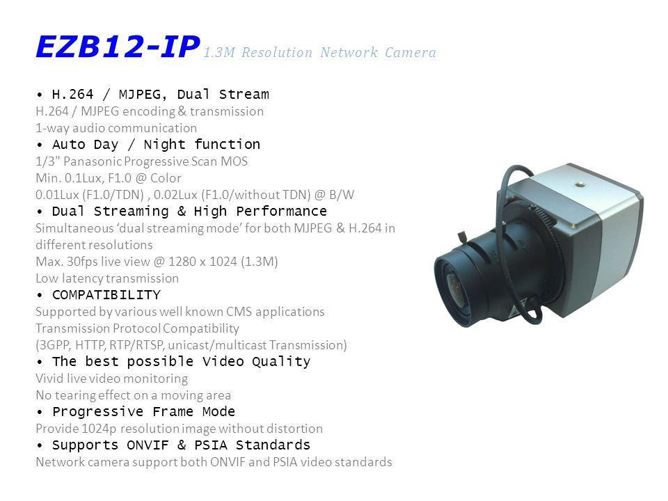 EZB12-IP 1.3M Resolution Network Camera