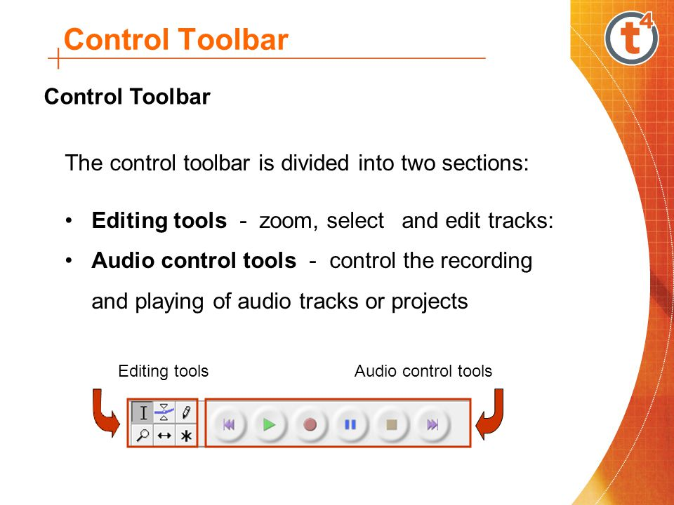 Control Toolbar Control Toolbar