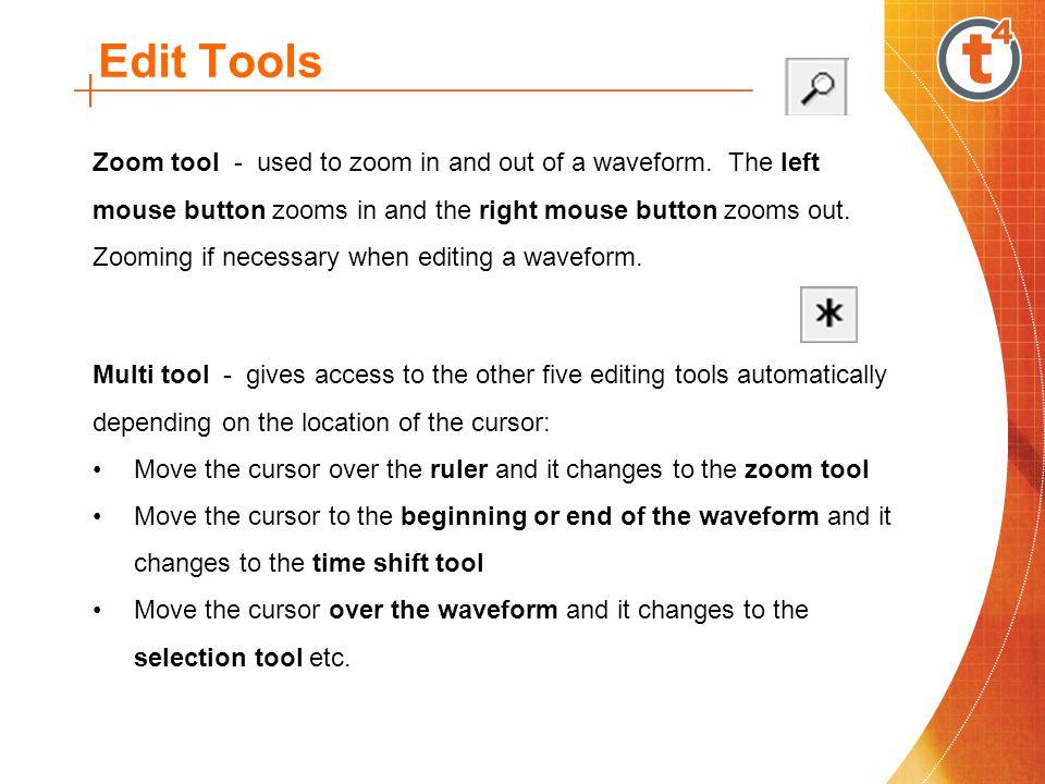 Edit Tools