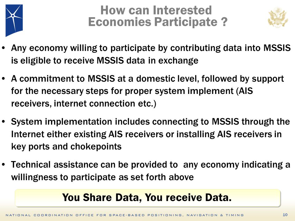 How can Interested Economies Participate