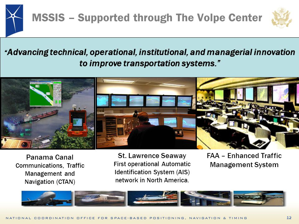 MSSIS – Supported through The Volpe Center