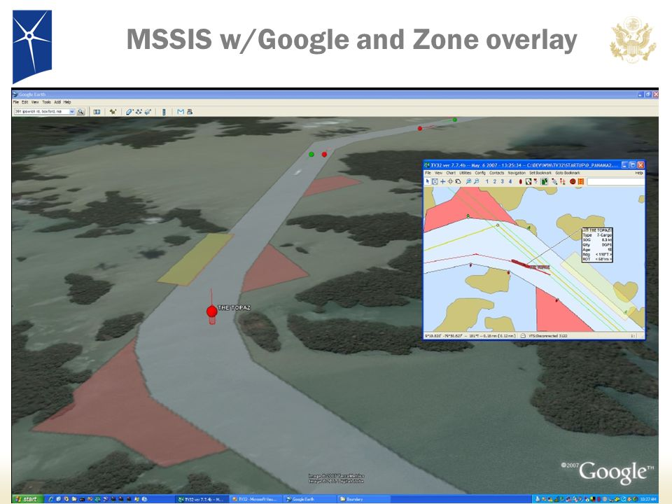 MSSIS w/Google and Zone overlay