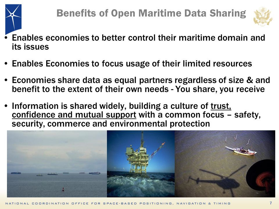 Benefits of Open Maritime Data Sharing