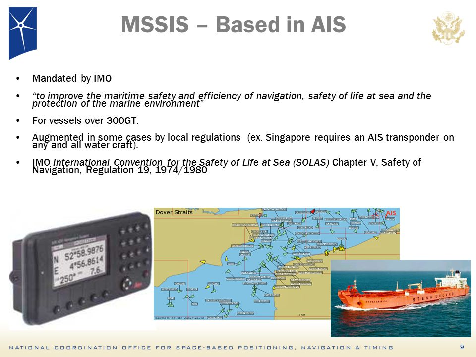 MSSIS – Based in AIS Mandated by IMO