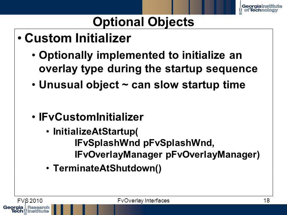 Optional Objects Custom Initializer