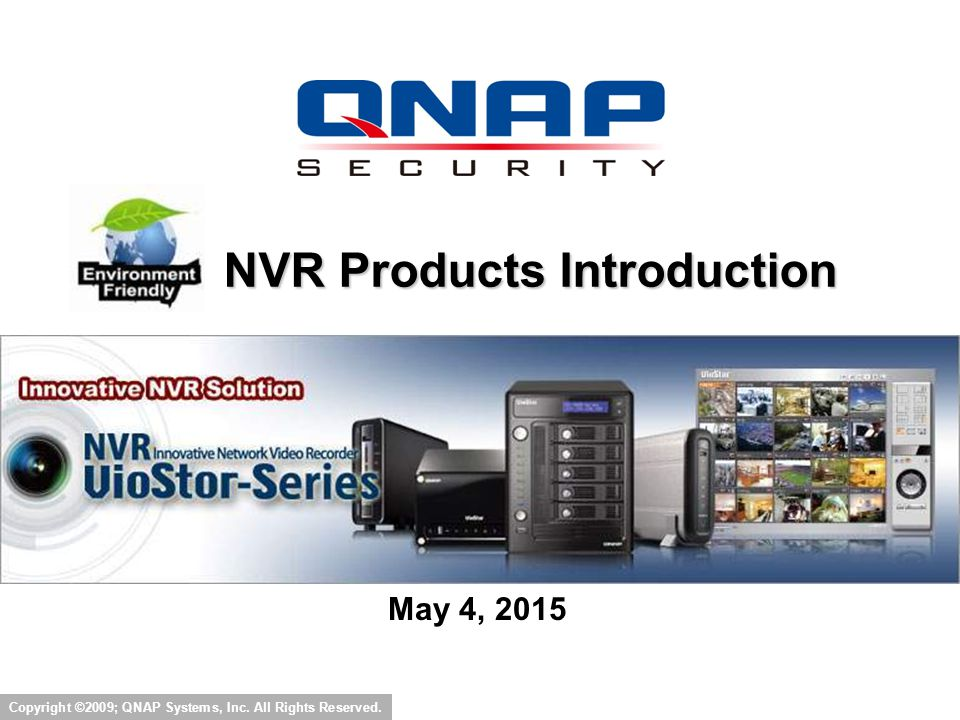 NVR Products Introduction