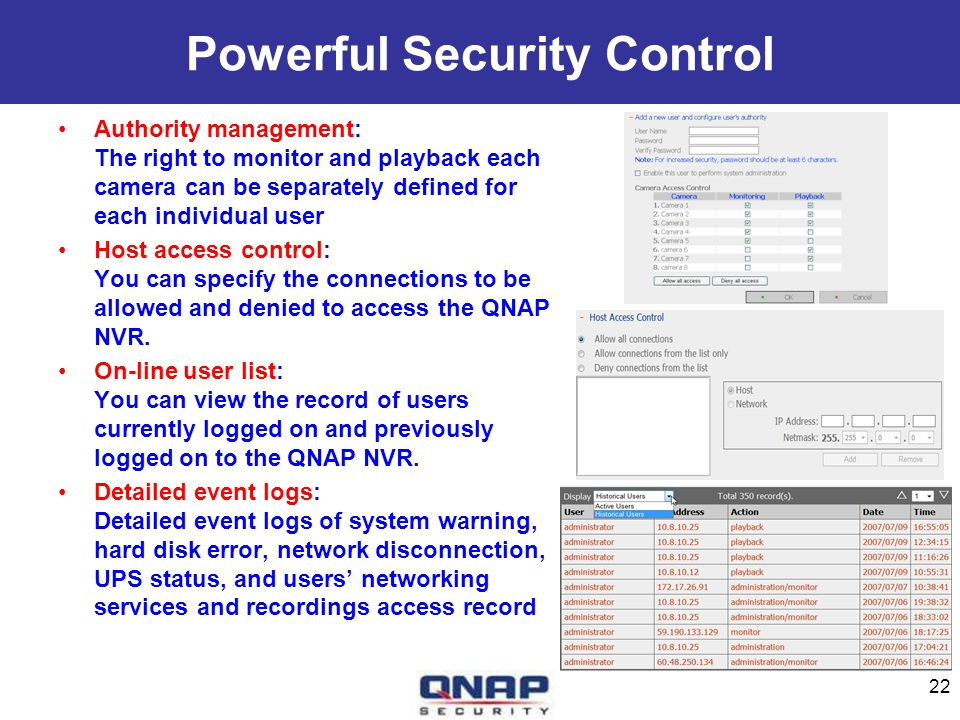 Powerful Security Control