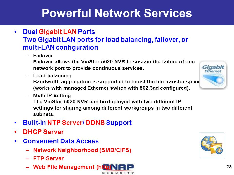 Powerful Network Services