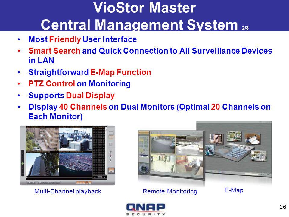 VioStor Master Central Management System 2/3
