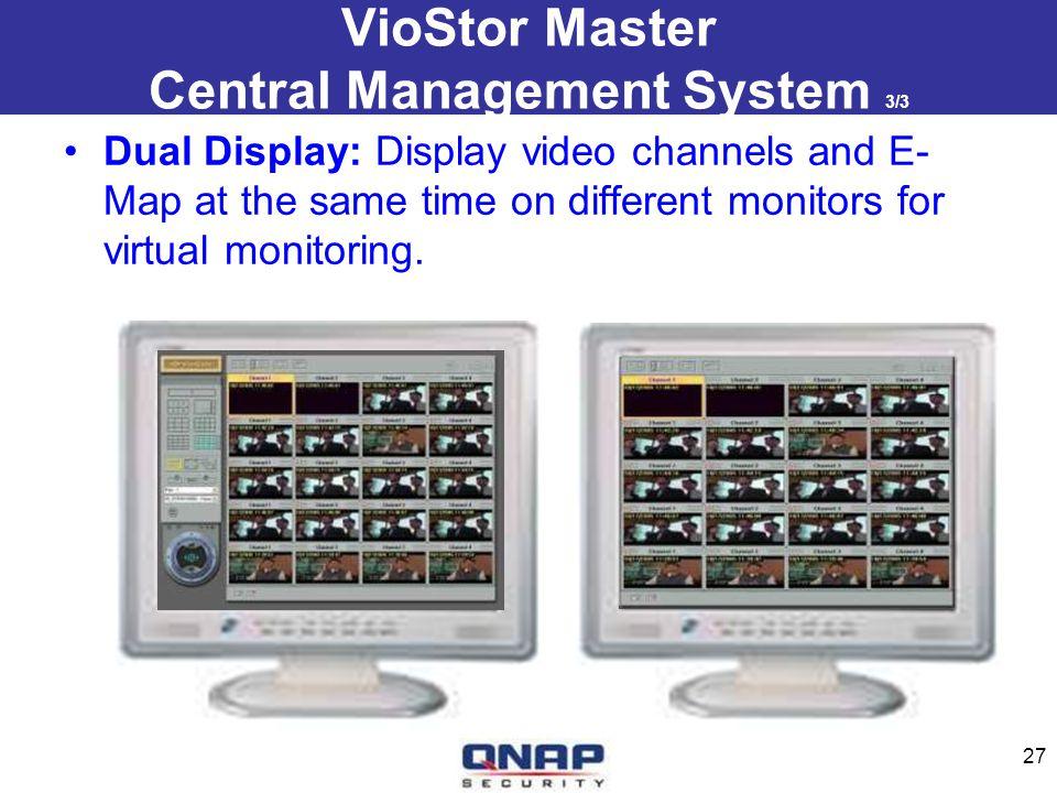 VioStor Master Central Management System 3/3