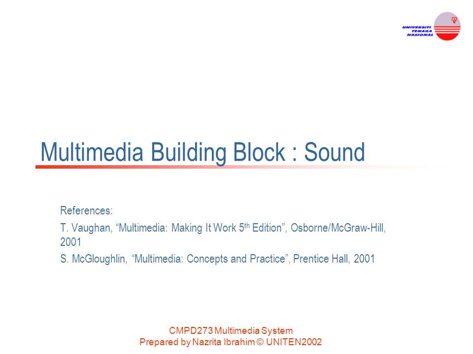Multimedia Building Block : Sound