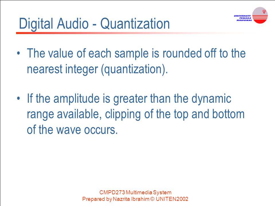 Digital Audio - Quantization