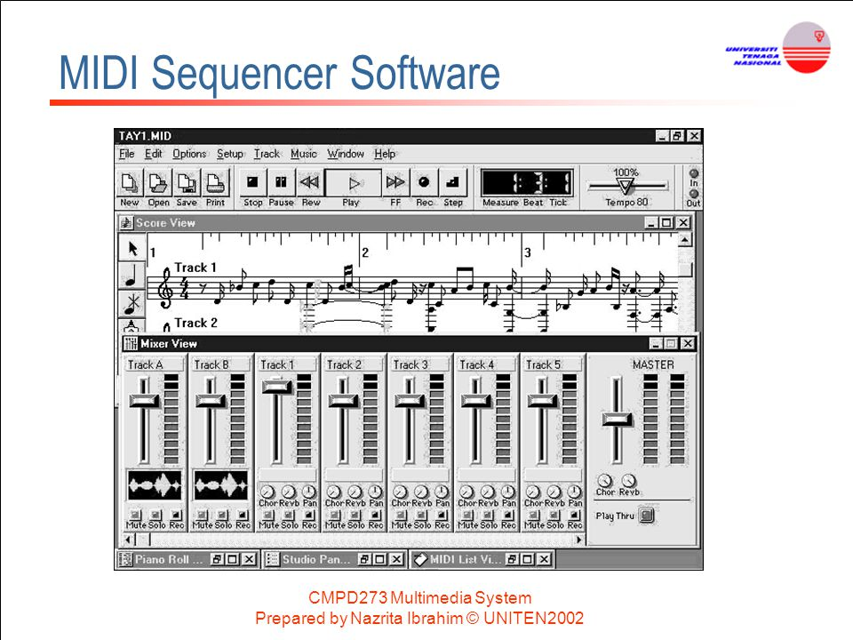 MIDI Sequencer Software