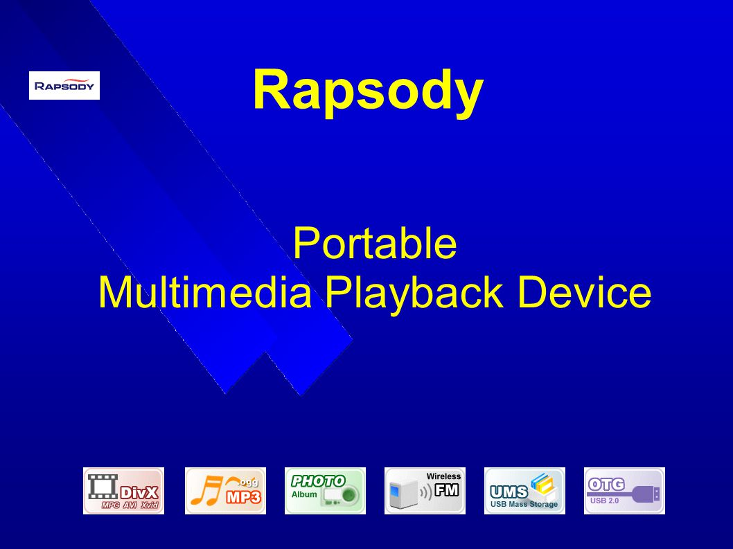 Portable Multimedia Playback Device