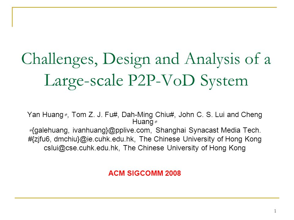 Challenges, Design and Analysis of a Large-scale P2P-VoD System