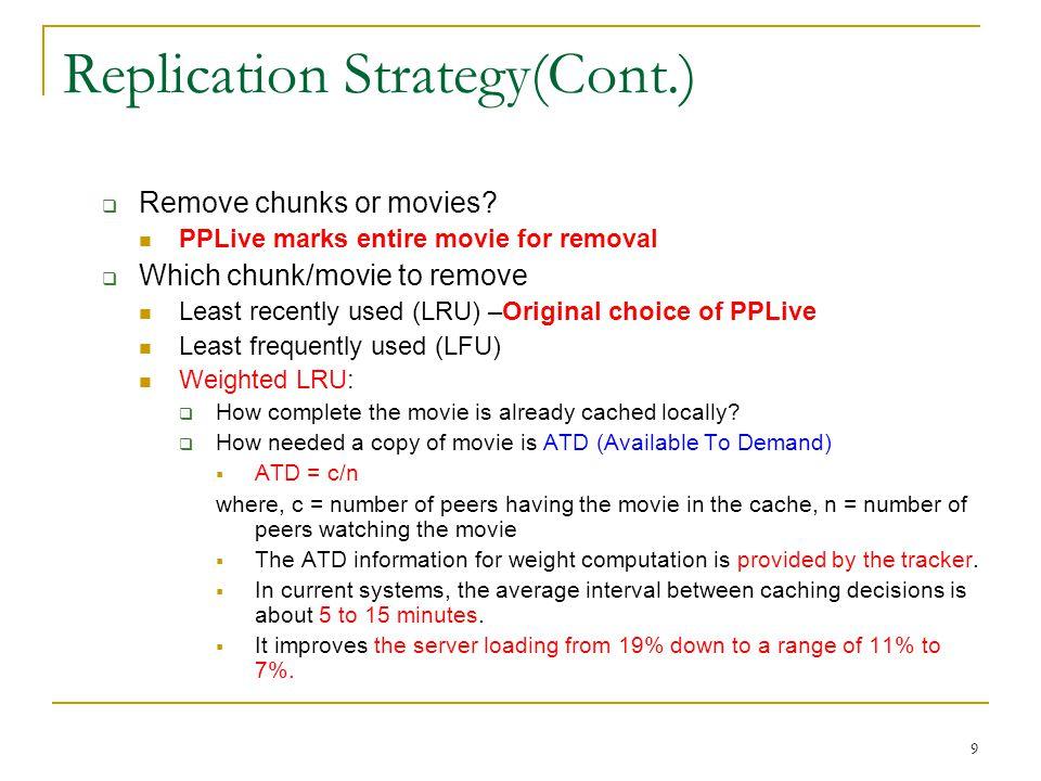 Replication Strategy(Cont.)