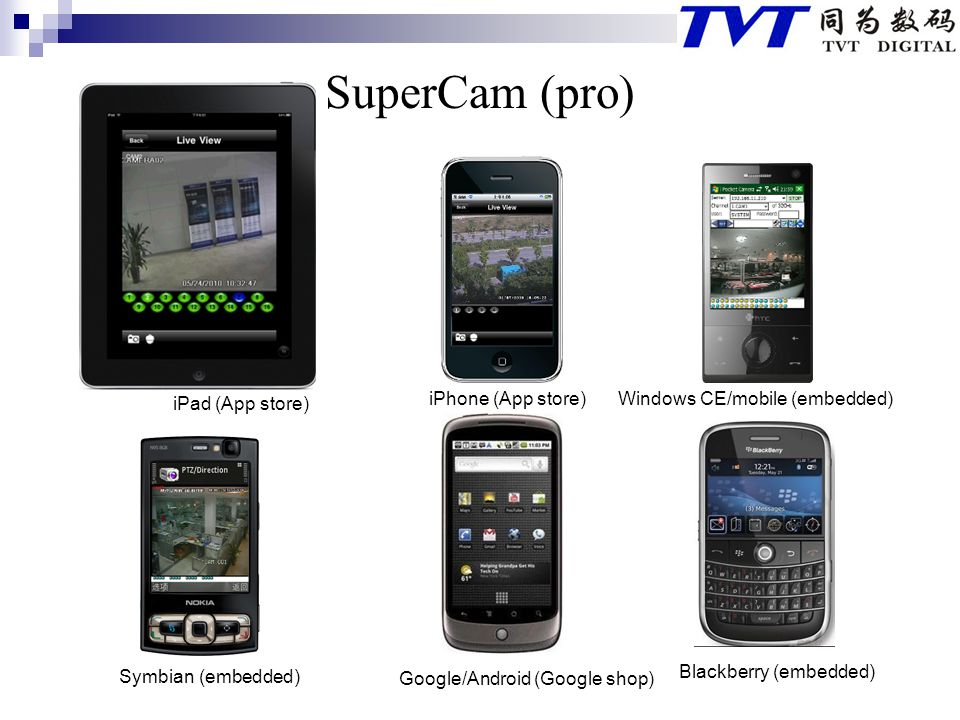 SuperCam (pro) iPad (App store) iPhone (App store)