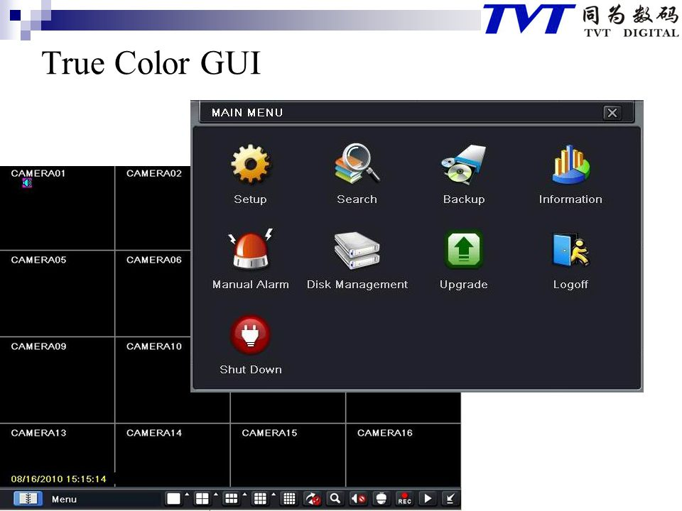 True Color GUI